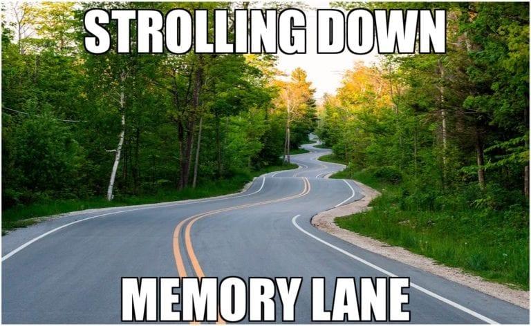 Strolling Down Memory Lane